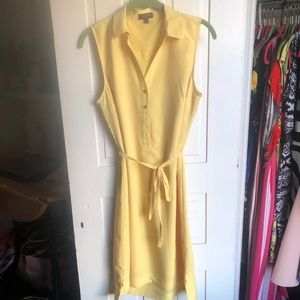 Yellow dress from The Limited